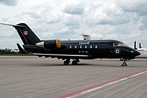 Canadian Forces CC-144 Challenger - VIP Transport of Prime Minister and Governor General (Bombardier Challenger 601).jpg