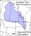 Canadian and Wyoming Toad Ranges.png