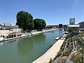 Canal St Denis vu depuis Pont Stains Aubervilliers 4.jpg