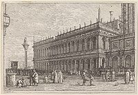 Canaletto, La libreria. V., in or before 1742, NGA 764.jpg