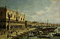 Canaletto (1697-1768) (imitator of) - The Doge's Palace, Venice - M.13 - Fitzwilliam Museum.jpg