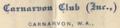 Canarvon Club letterhead.png
