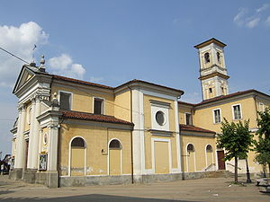 Candiolo - Parish Church of St. John the Baptist