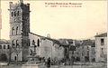 Canet-en-Roussillon - Place et clocher (CP Labouche).jpg