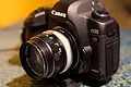 Canon EOS 5D Mark II with Old Lens.jpg