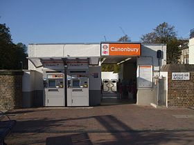 Image illustrative de l'article Gare de Canonbury