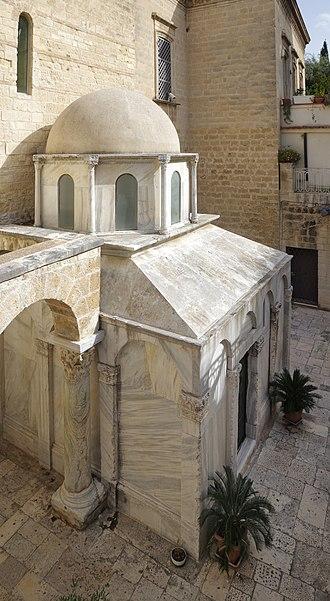 Bohemond I of Antioch - Mausoleum of Bohemond in Canosa di Puglia.