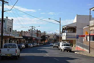 Canowindra - Gaskill Street, the main street of Canowindra