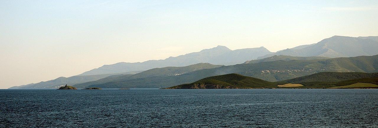 Extr�mit� Nord du Cap Corse