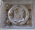 Cappella delle virtù o di san sigismondo, elefanti malatestiani e dado con stemmi e ritratto s.p. malatesta, dx 01,1.jpg