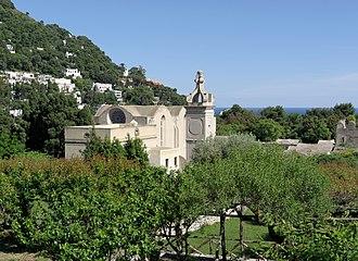 Capri - Certosa di San Giacomo, a Carthusian monastery founded in 1363