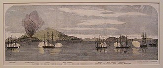 Battle of the Bogue (1856) - Attack on the North and South Wangtong Islands