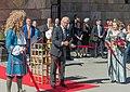 Carl XVI Gustaf inviger Livrustkammaren 2019.jpg