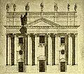 Carmelo Battaglia Santangelo Disegno facciata San Nicolò l'Arena Catania.jpg