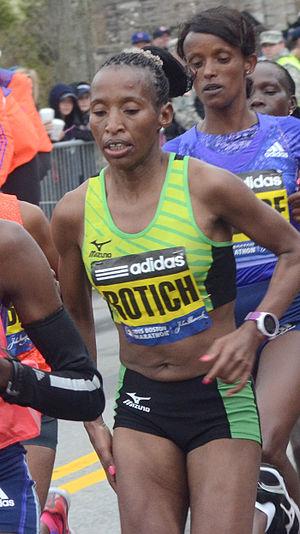 2015 Boston Marathon - Image: Caroline Rotich