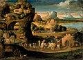 Carpi, Girolamo da - Landscape with Magicians - c. 1525 — Gettyimages edited.jpg