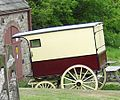 Carriage, Pockerley Old Hall, Beamish Museum, 17 May 2011.jpg