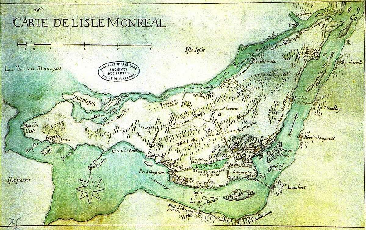 Carte Du Canada Montreal.1700 Au Canada Wikipedia
