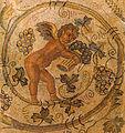 Carthage Amour vendangeur mosaïque du IVe s Musée du Louvre.jpg