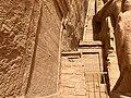 Carved Hieroglyphs, The Great Temple of Ramses II, Abu Simbel, AG, EGY (48016983356).jpg