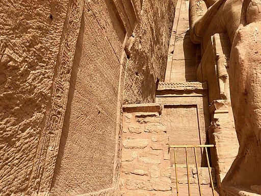 Carved Hieroglyphs, The Great Temple of Ramses II, Abu Simbel, AG, EGY (48016983356)