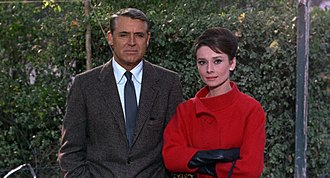 Charade (1963 film) - Grant and Hepburn