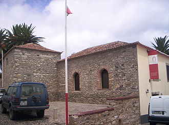 Porto Santo Island - The stone house of Christopher Columbus in Vila Baleira.