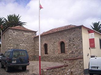 Porto Santo Island - The stone house of Christopher Columbus in Vila Baleira.
