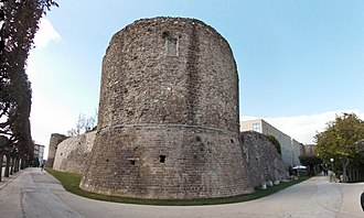 Province of Avellino - The Norman Castle in Ariano Irpino.