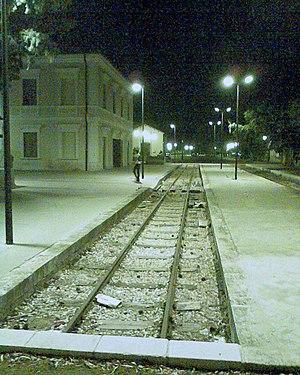 Marinella di Selinunte - Image: Castelvetrano stazione di Selinunte