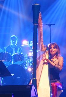 Catrin Finch Welsh harpist