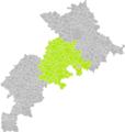 Caujac (Haute-Garonne) dans son Arrondissement.png