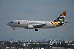 Cayman Airways, Boeing 737-500, VP-CKZ (15823314235).jpg