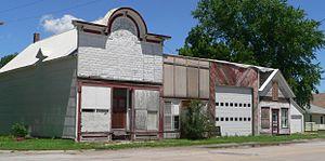 Cedar Creek, Nebraska - Downtown Cedar Creek: B Street