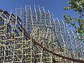 Cedar Point Mean Streak RMC refurbishment (2009).jpg