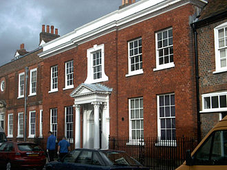 Buckinghamshire County Museum - Ceely House, the main building now containing the museum