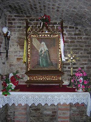 Dorothea of Montau - Cell of Dorothea of Montau in Kwidzyn