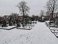 Cemetery in Okříšky, Třebíč District.JPG
