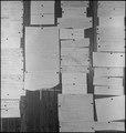 Centerville, California. Bulletin board in Japanese American Citizens League office, during period . . . - NARA - 537600.tif