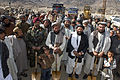 Ceremonial groundbreaking on a highway in Kandahar -a.jpg
