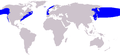 Cetacea range map Northern Right Whale.png