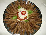 Ćevapčići (fonte wikipedia)