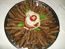 bosnisk mat cevapi