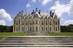 Le château de Sceaux.