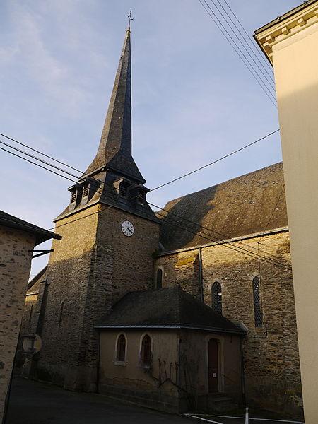 L'église Saint-Maurice.