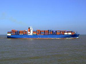 Chaiten p9 approaching Port of Rotterdam, Holland 08-Mar-2007.jpg