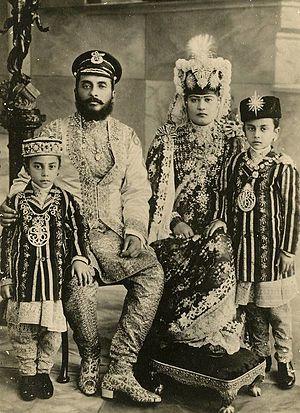 Chandra Shumsher Jang Bahadur Rana - Chandra Shumsher's immediate family