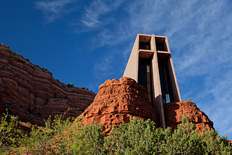 Sedona, Arizona - The Chapel of the Holy Cross, 2010