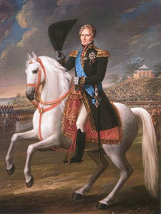 Fredric Westin - Image: Charles XIV of Sweden painted by Fredric Westin