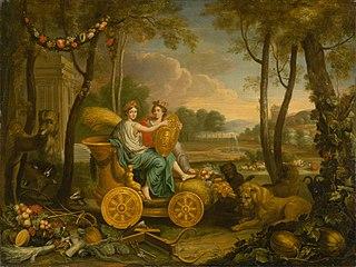 Apotheosis of Luis XIV.